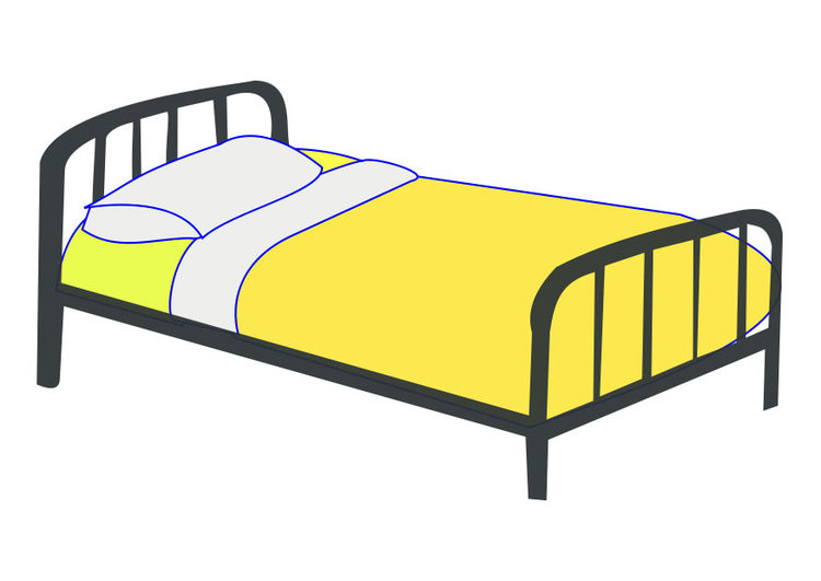 Image single bed
