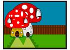 Image Smurf house