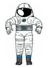 Image space suit