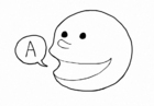 Coloring page Speak - Talk