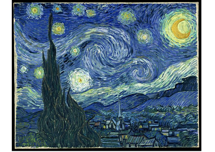 Image Starry Night - Vincent Van Gogh