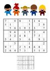 Image sudoku - children