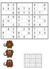 Image sudoku - monkeys