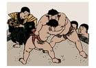 Image sumo wrestling