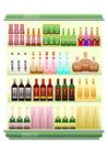 Image supermarket - drinks isle