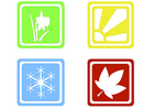Image symbols seasons