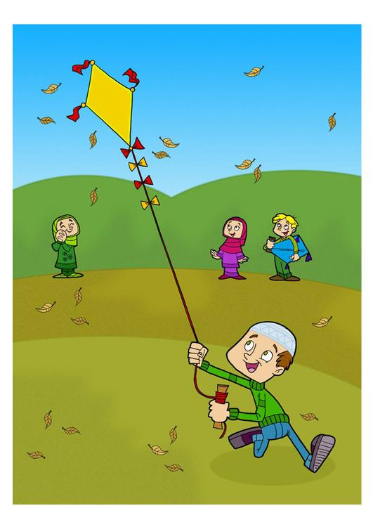 to fly kites