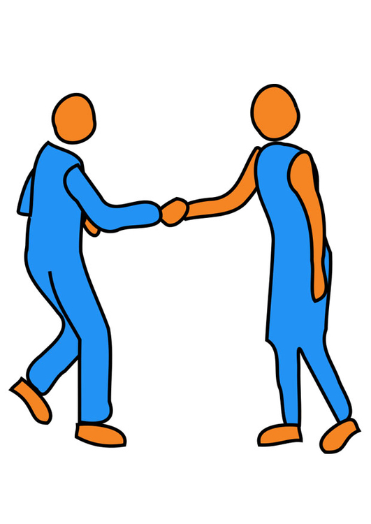Image to shake hands