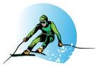 Image to ski