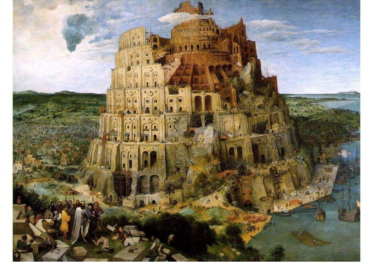 Image tower of babel