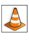 Image traffic cone