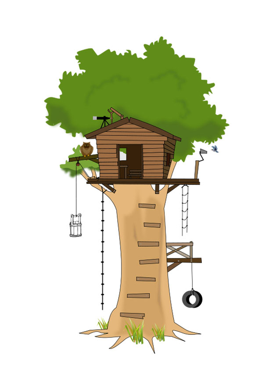 Image tree house