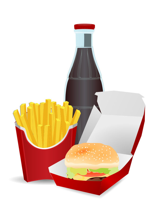 Image unhealthy food