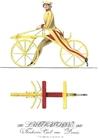Image walking bicycle