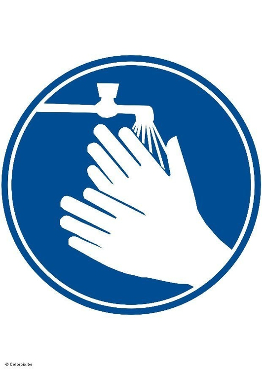 Image wash hands please