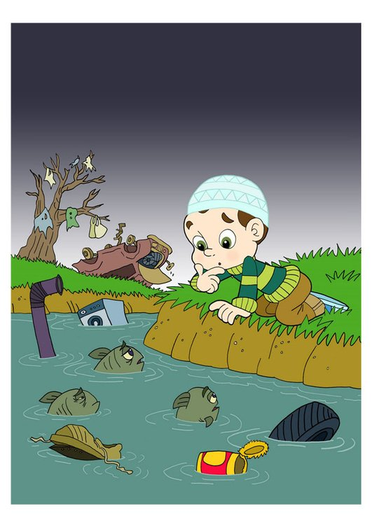 Image water pollution