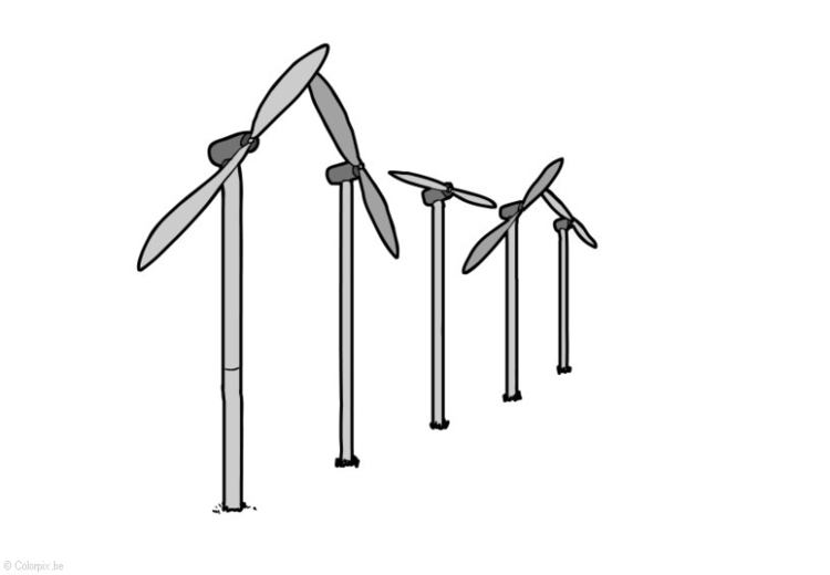 Image Wind energy - Windmills