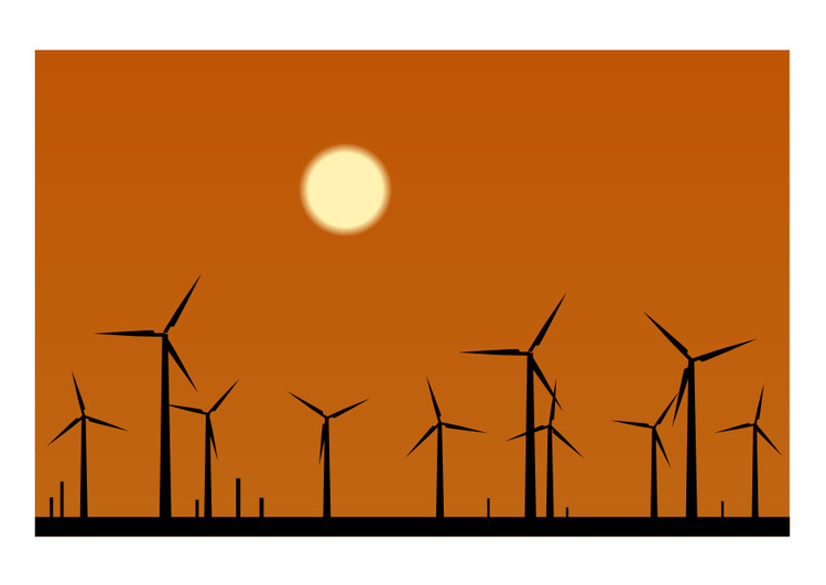 Image wind farm