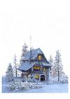 Image winter landscape