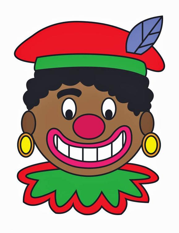 Image Zwarte Piet Face Img 16164
