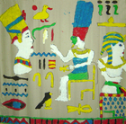 craft Egyptian hieroglyphs