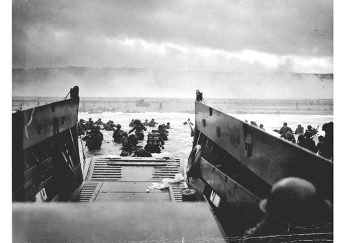 Photo landing at Omaha Beach, Normandy 2