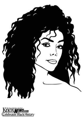 latoya jackson. Coloring page Latoya Jackson