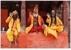 Photo 3 Sadhus (Hindu Holymen) in Nepal