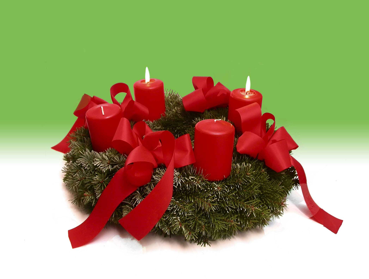Photo Advent wreath