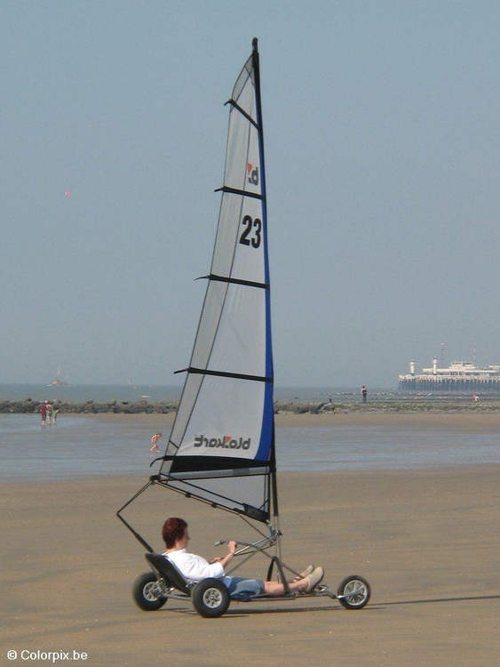 Photo beach sailing 1
