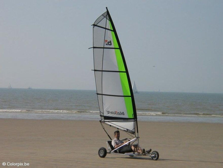 Photo beach sailing