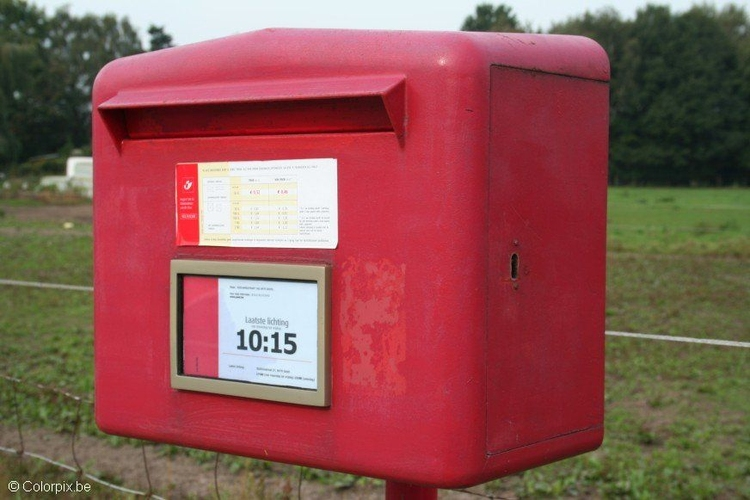 Photo Belgian postbox