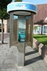 Photo belgian telephone booth