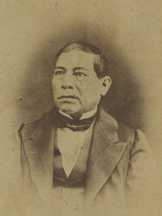Photo Benito Juárez - circa 1868