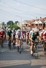 Photo bicycle racing