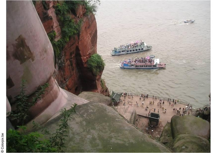 Photo Buddha in Leshan 3
