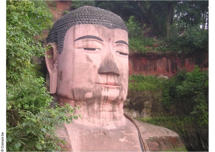 Photo Buddha in Leshan