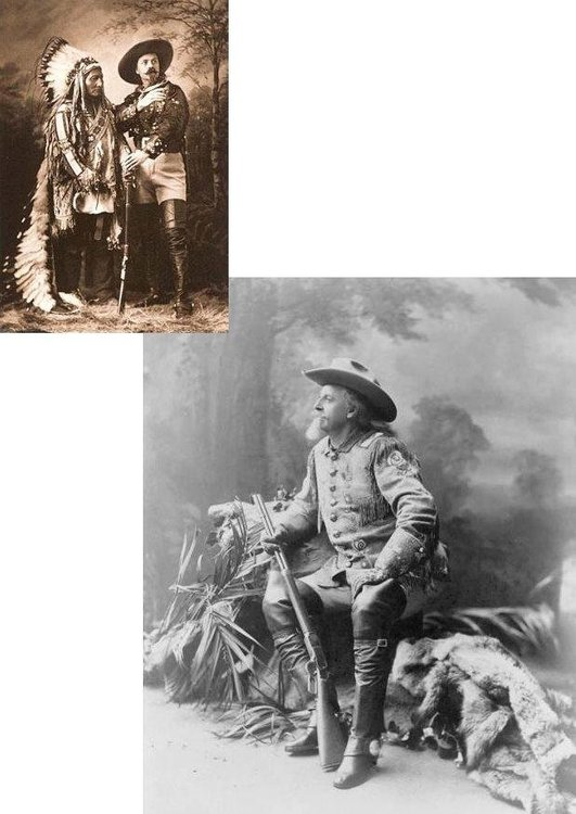Photo Buffalo Bill and Sitting Bull