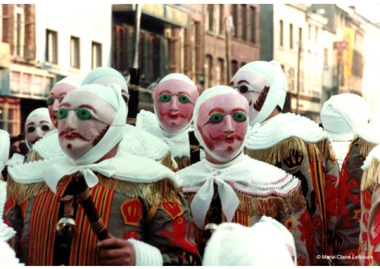Photo carnival Gilles de Binche