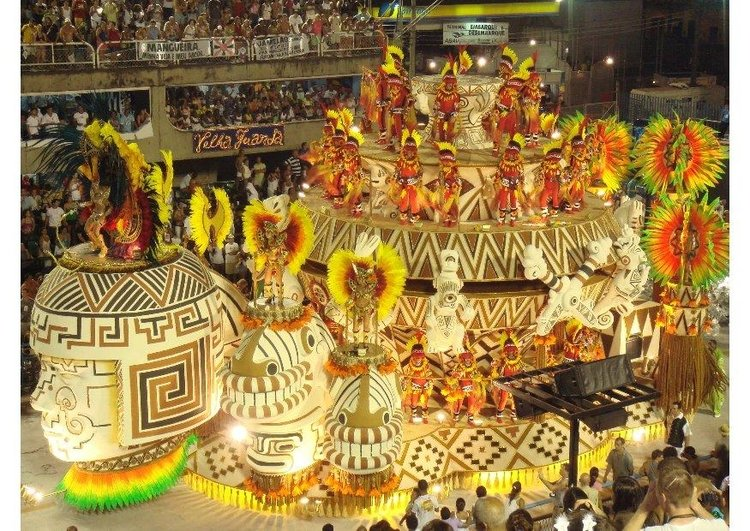 Photo carnival in rio