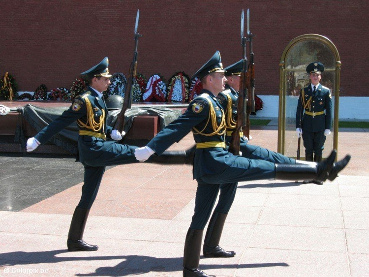 Photo changing of the guard