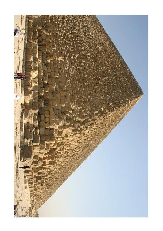 The Great Pyramid of Cheops (Khufu) in Giza