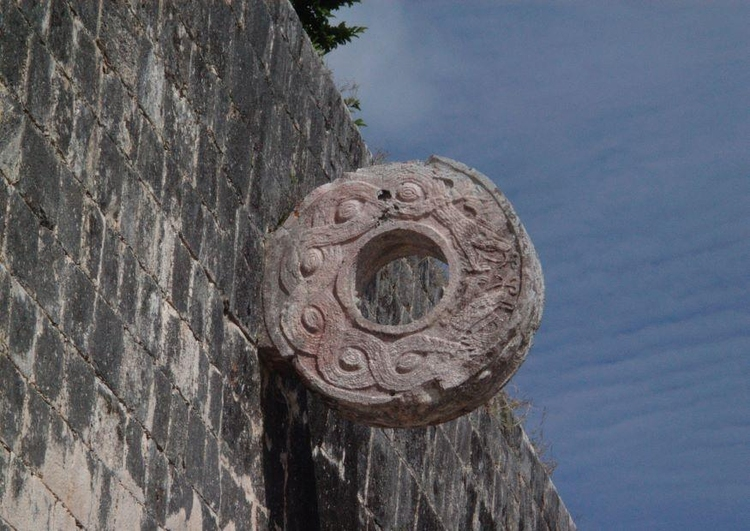 Photo Chichen Itza- goal on sport field