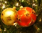 Photo Christmas Baubles