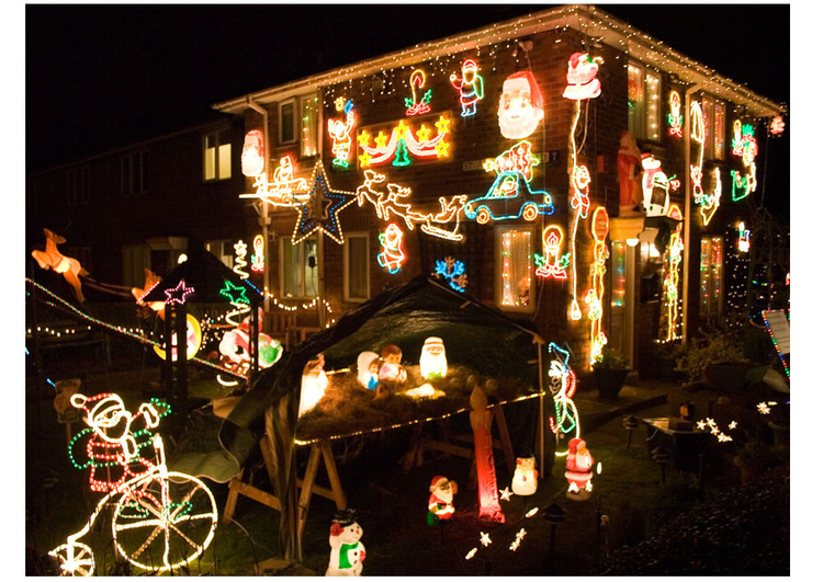 Photo christmas lights