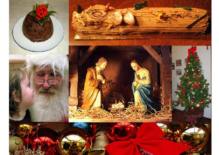 Photo Christmas picture collage