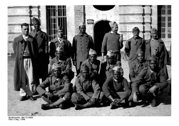 Photo Colonial Prisoners of War in France