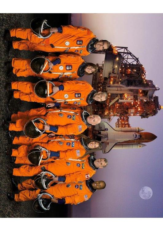 crew of the Space Shuttle