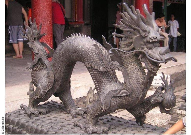 Photo dragon, Forbidden City 2
