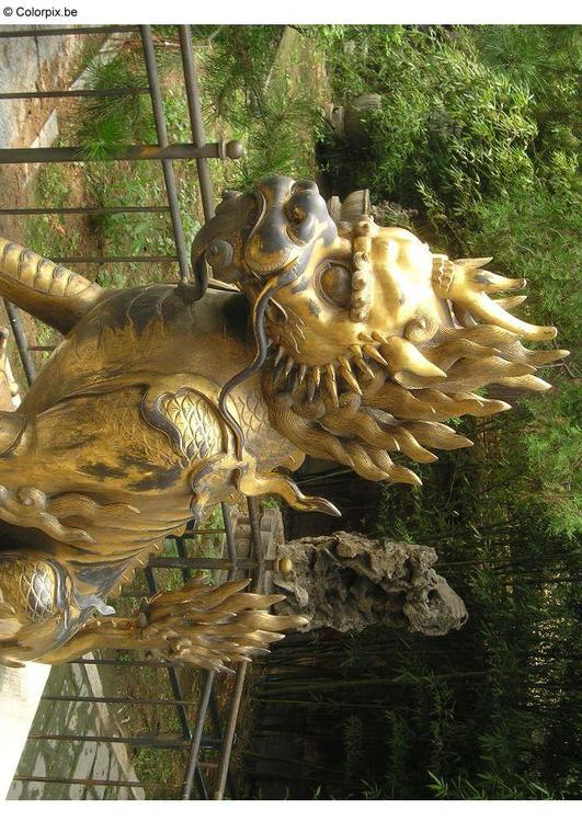 dragon, Forbidden City